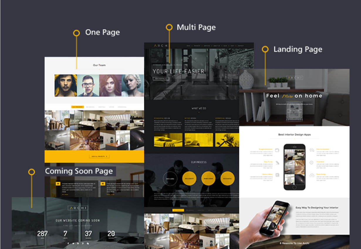 Archi - Interior Design WordPress Theme - 17