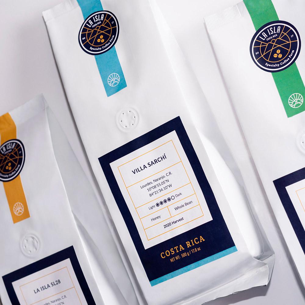 Packaging Design for La Isla Costa Rica