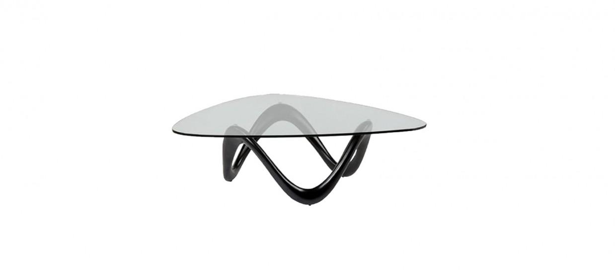 table basse design noire niagara