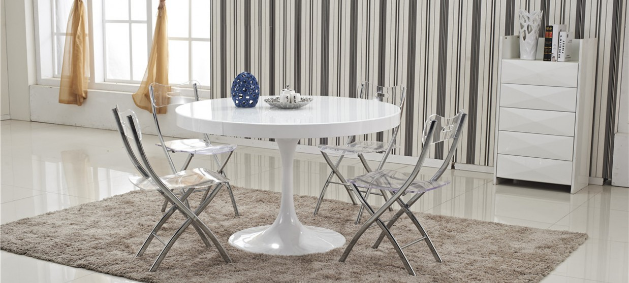 table a manger ronde extensible isola