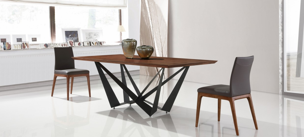 table a manger design en bois factory