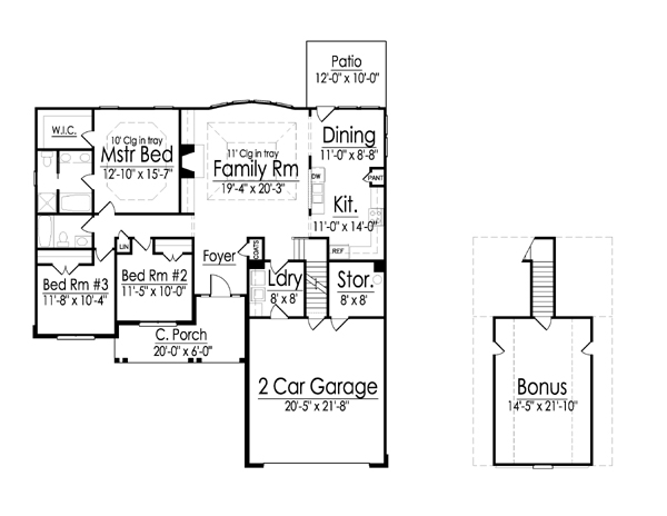 Sante Fe floor plan