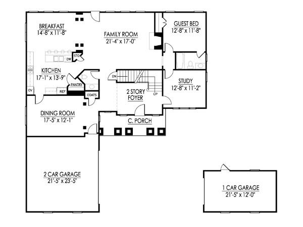 Thayer first floor
