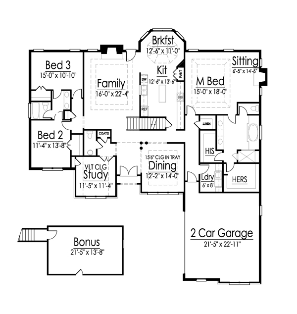 Letcher floor plan
