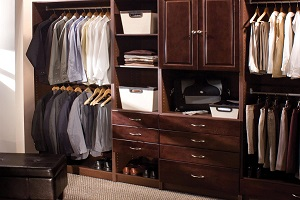 custom closet systems on a do-it-yourself budget