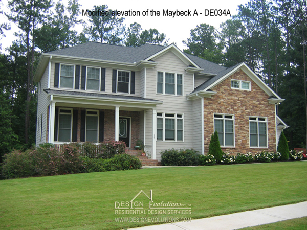 traditional style home plan