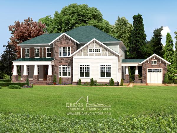 craftsman style home plan