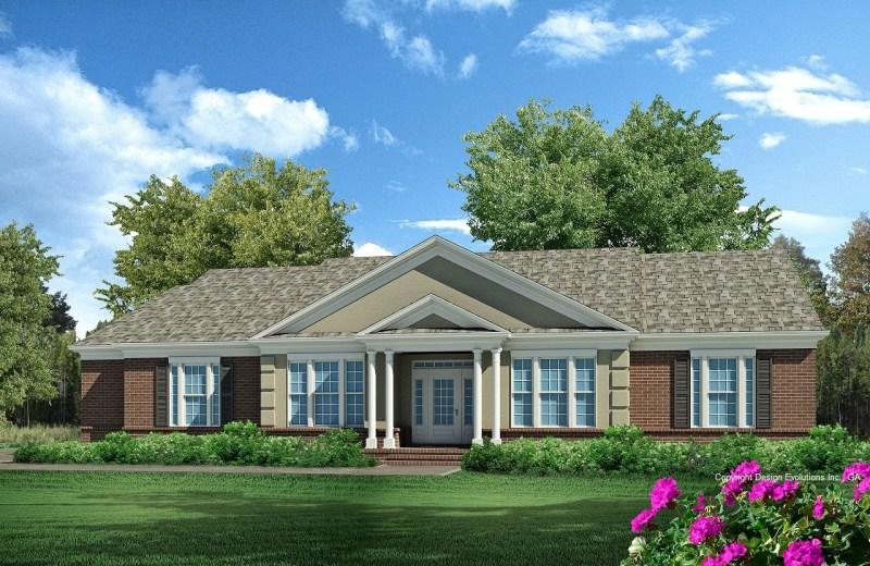 DE064-Reuben house plan rendering