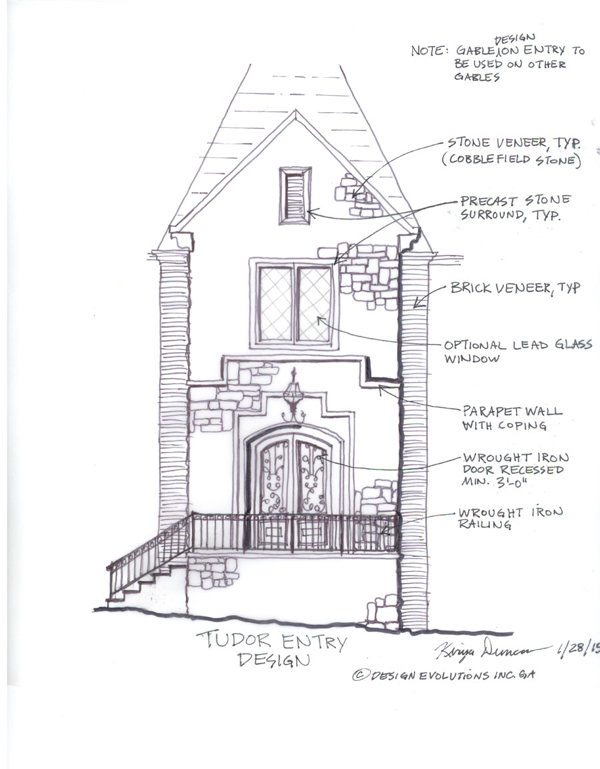 redesigning the front of a house