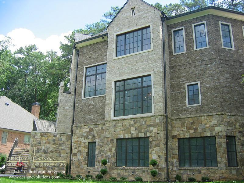 Harrison English Tudor elevation design 7