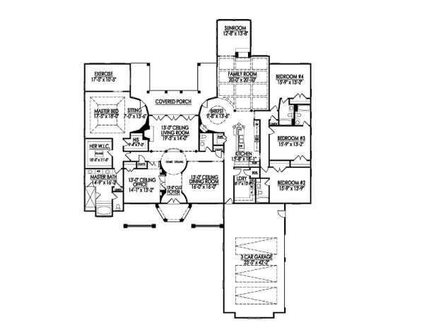 Henson floor plan