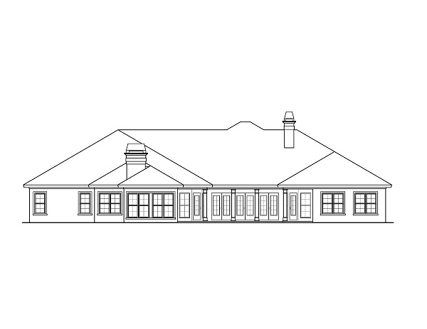Henson rear elevation