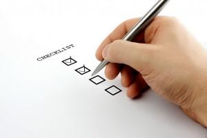 house planning checklist