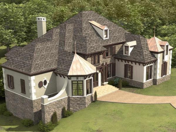 ponderosa house plan rendering 2