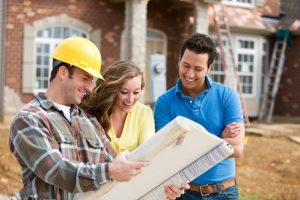 working with a custom home builder