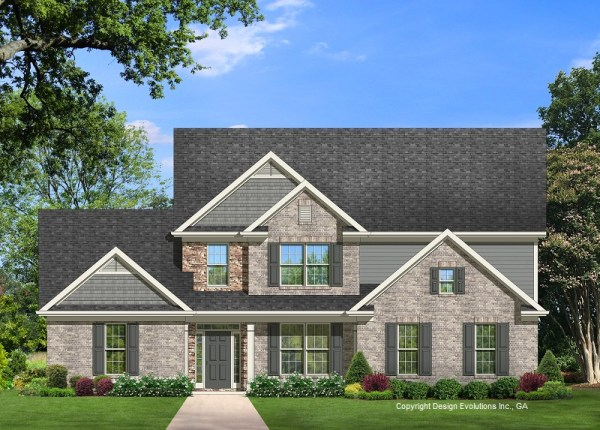 Frankford house plan elevation A