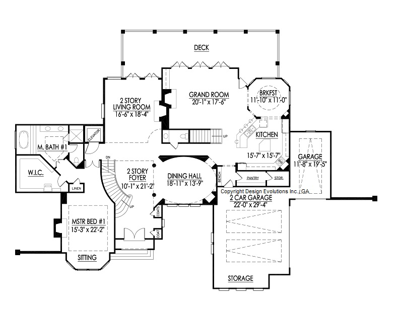 Edney I first floor plan