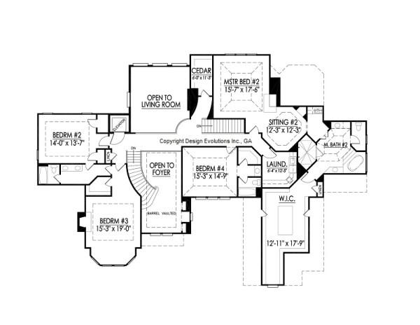 Edney I second floor plan