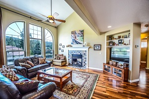 design a family room layout