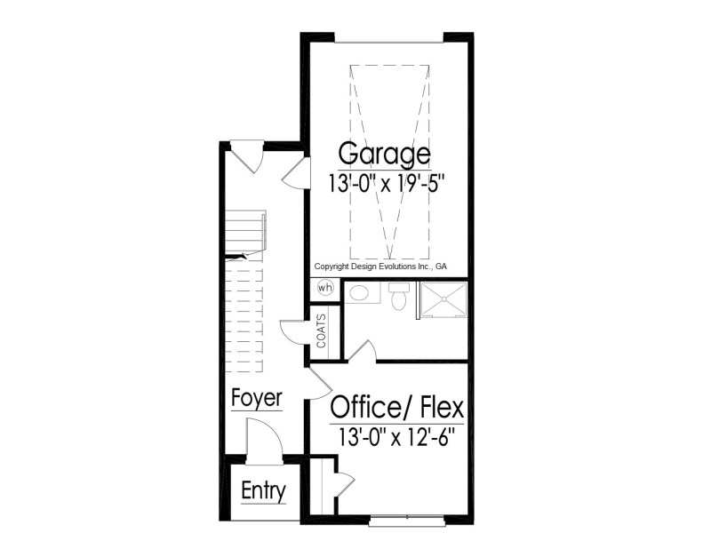 modern contemporary floor plan