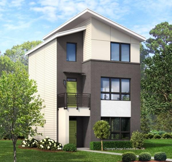 Modern Contemporary house plan