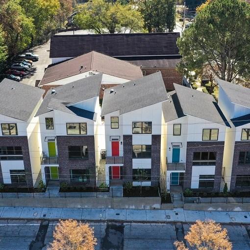 Westside Crossing Detached Townhouse - Design Evolutions Inc., GA