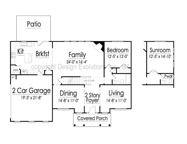 Barnett first floor