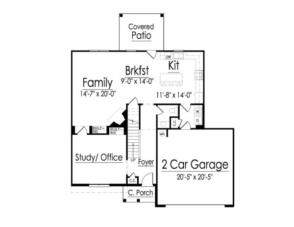 Claymore first floor