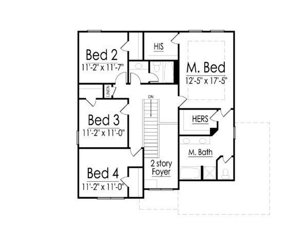 Claymore second floor