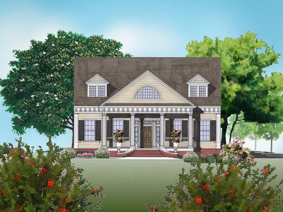 Greek Revival Home Plans