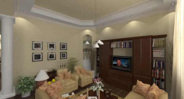 Lexington living rendering