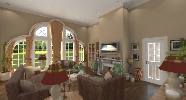 Renica family room