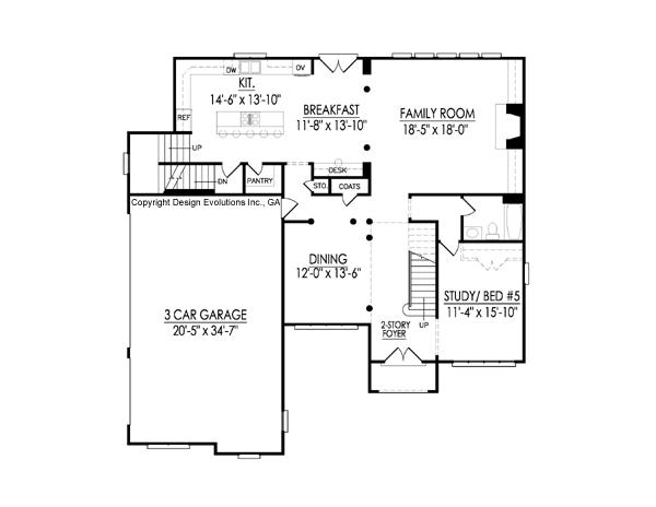 Lumley first floor