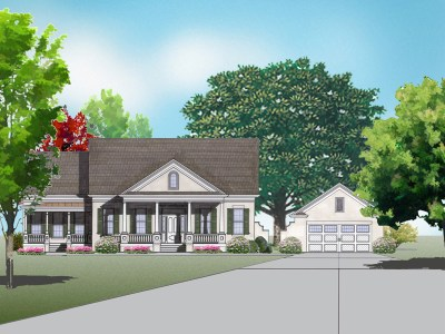 Shields town house rendering