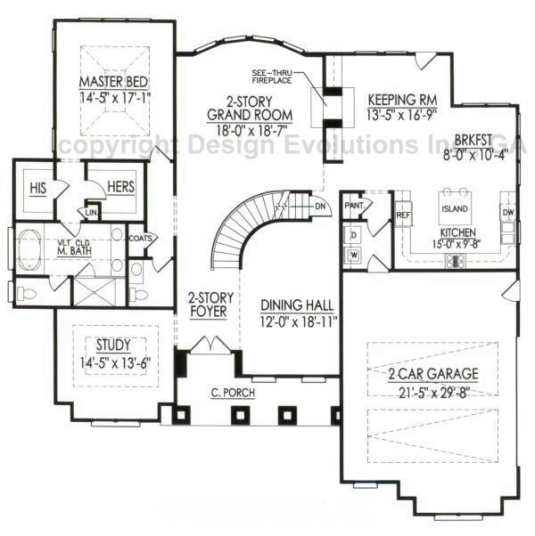 Faulkner-B first floor