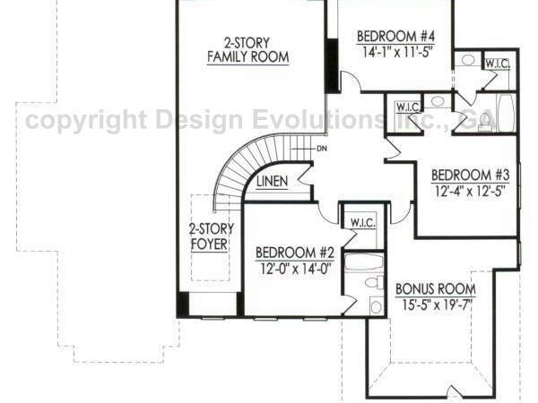 Faulkner-B second floor