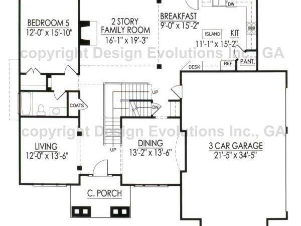 Bradbury B first floor