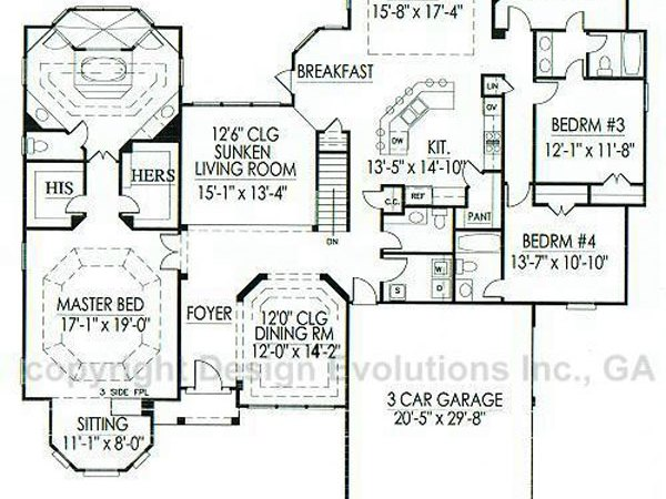 Stanford floor plan