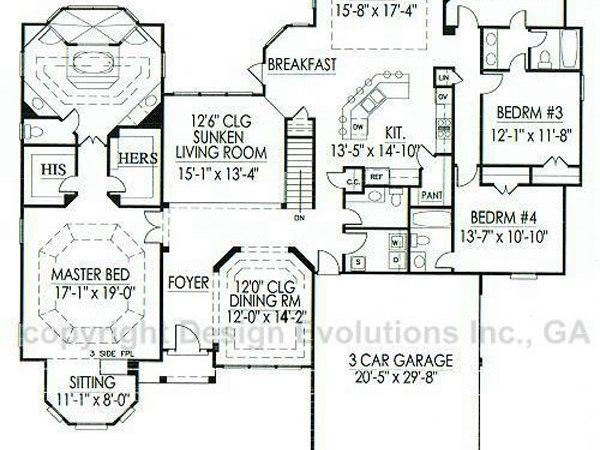 Stanford floor plan