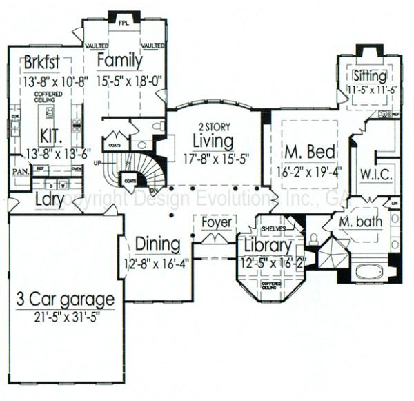 Vignola first floor