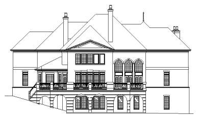 Yorkshire rear elevation