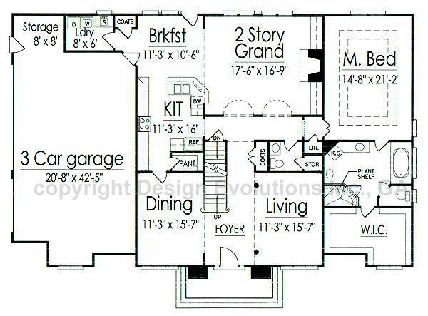 Malveaux first floor