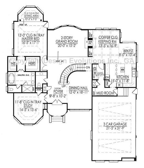 Merriweather first floor