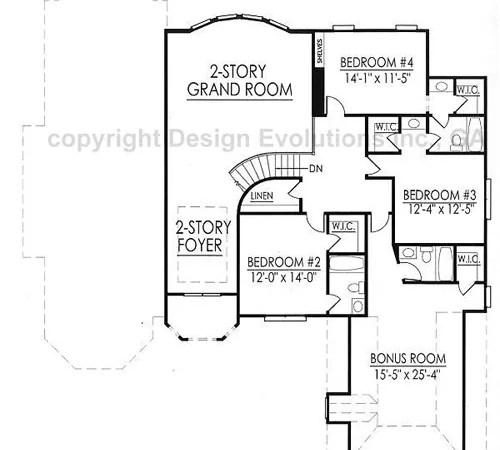 Merriweather second floor