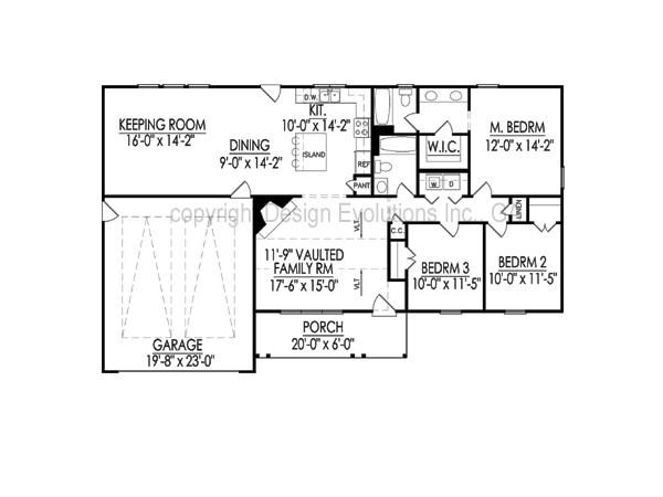Ellise floor plan