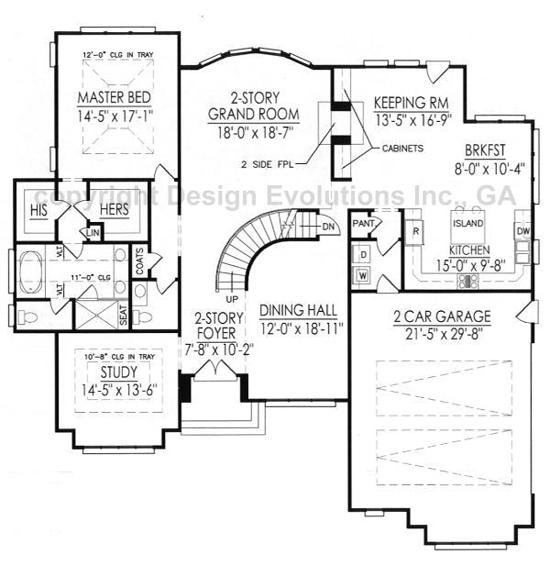 Cockerell first floor