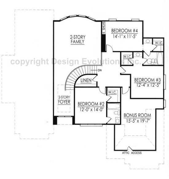 Cockerell second floor