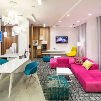 The ibis Styles hotel in Lviv by EC-5 Architects