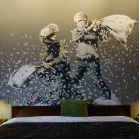 Mind the Art: Walled Off Hotel by Banksy Opens in Bethlehem