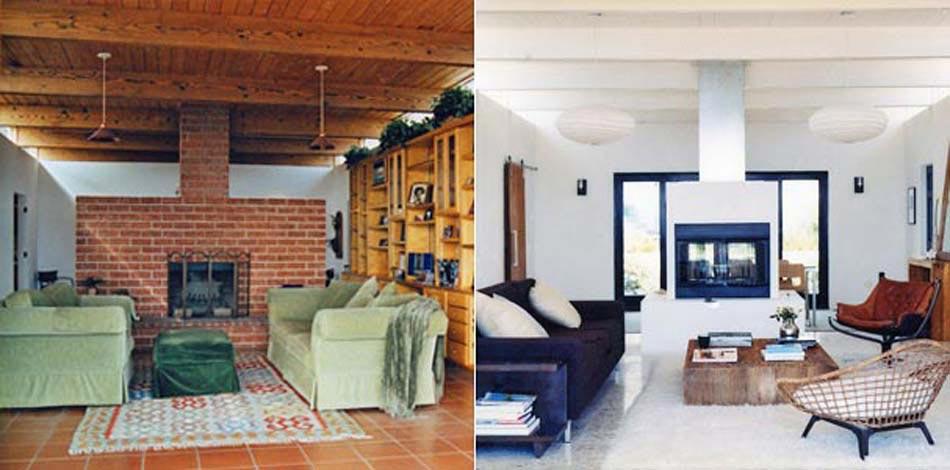 sejour travaux renovation interieur maison